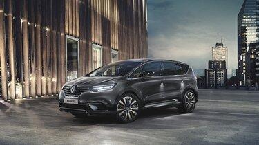 Renault ESPACE buitenkant, 3/4 vooraanzicht