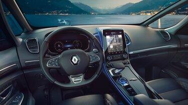 Interiér vozu Renault ESPACE, palubní deska