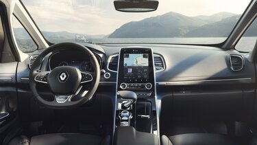 Renault ESPACE - Interni, cruscotto e tablet touchscreen EASY LINK