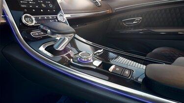 Renault ESPACE s technologií multi-sense a řadicí páka