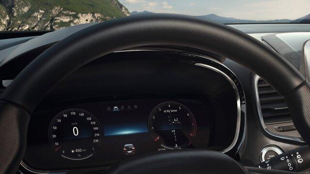 Renault ESPACE Fahrerdisplay