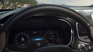 Renault ESPACE pantalla del conductor