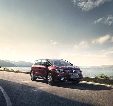 Neuer Renault ESPACE - grosser Crossover - aussen