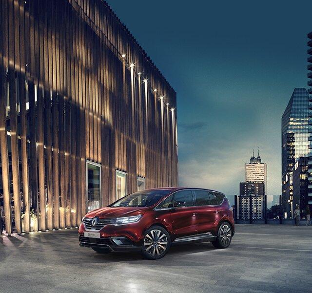 Nieuwe Renault ESPACE - crossover INITIALE PARIS