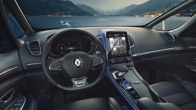 Novo Renault ESPACE: o grande crossover adequado a longas distâncias .