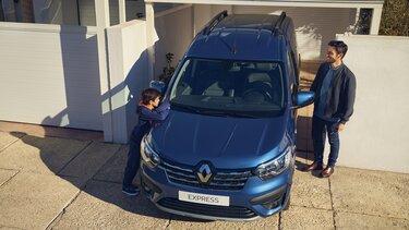 Renault Express – передня частина