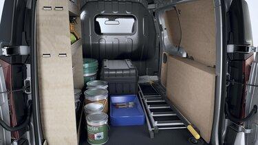 Holzverkleidungen für den Neuen Express Van