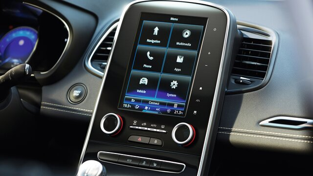 Renault Grand SCENIC R-Link 2 Touchscreen