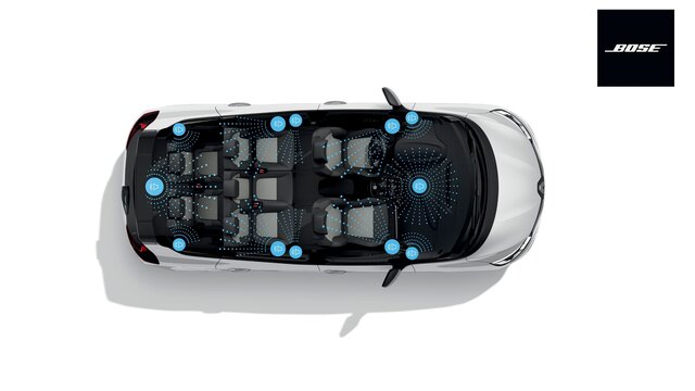 Renault Grand SCENIC Bose Sound System