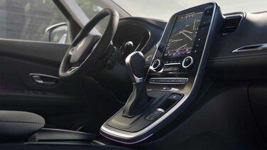 Das integriertes Online-Infotainmentsystem R-LINK 2 im Renault Grand Scénic Business Edition