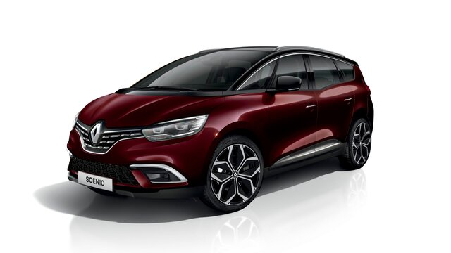 Renault Grand SCENIC in 3D
