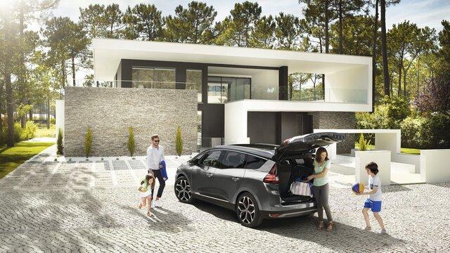 Renault Grand SCENIC Heckansicht