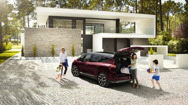 Renault Grand SCENIC vue arriere