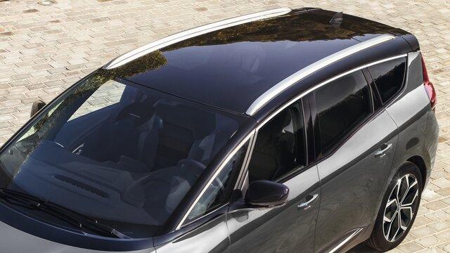 Renault Grand SCENIC - podélné střešní lišty