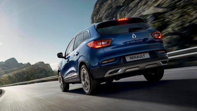 Синьо Renault KADJAR