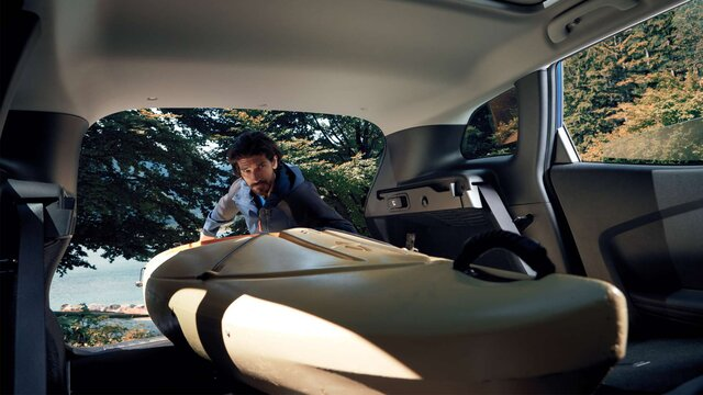 Zavazadlový prostor vozu Renault KADJAR