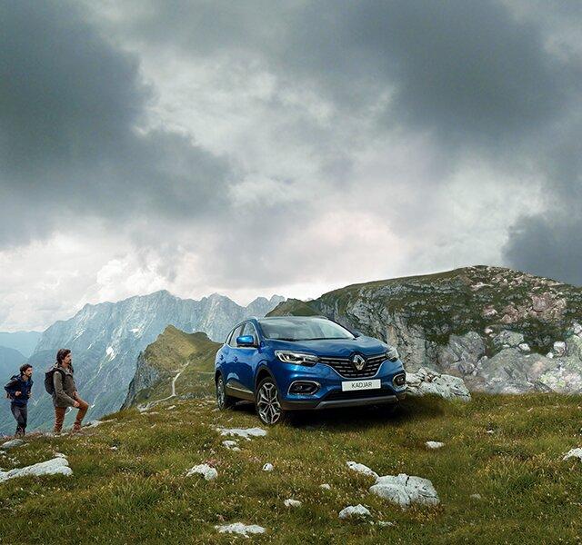 Renault KADJAR na zewnątrz