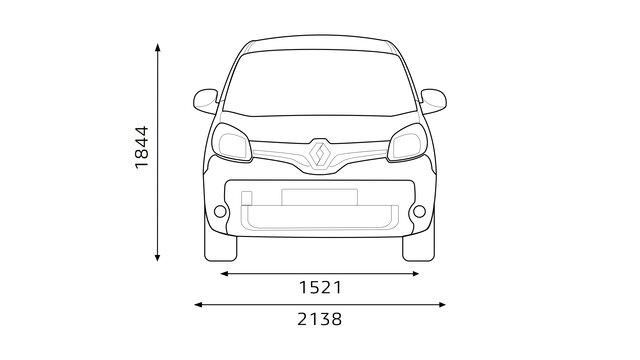 Renault - KANGOO Express Dimensões