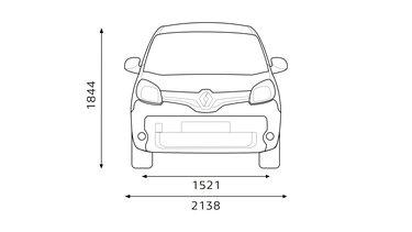 Renault - Kangoo Express Dimensions