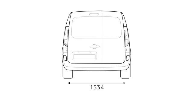 Renault - Rozměry vozu KANGOO Express