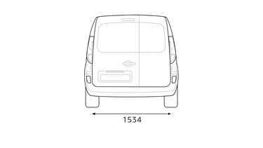 Renault – KANGOO Express Abmessungen