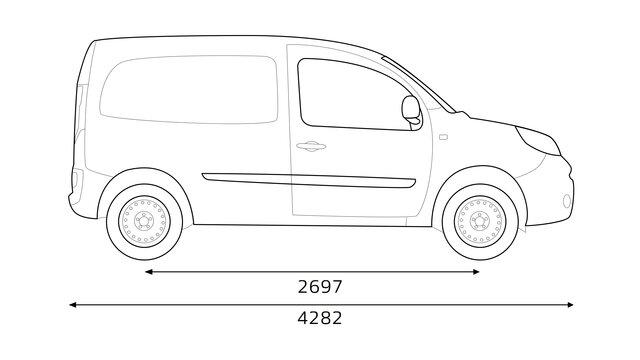 Renault - KANGOO Express Afmetingen