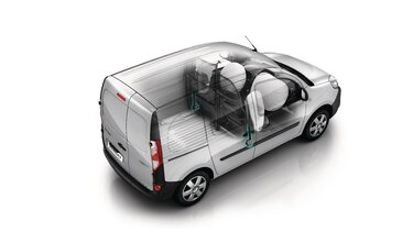 Renault KANGOO Z.E. Belső kialakítás