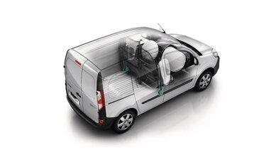 Renault KANGOO Electric – unutrašnjost