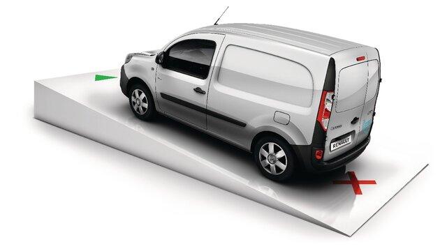 Renault KANGOO Z.E. – pomoč pri speljevanju v klanec