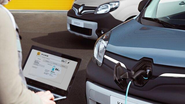 Renault KANGOO Z.E. Servicii conectate Z.E.