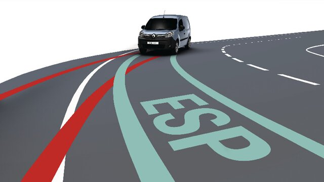 Renault KANGOO Z.E. – elektronski nadzor stabilnosti (ESC)