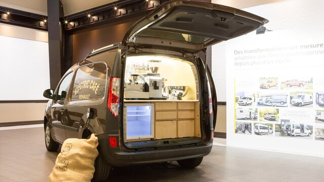 Renault KANGOO Z.E. Food truck