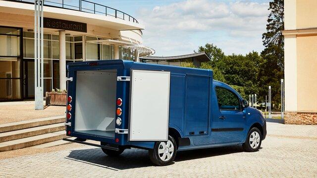 Renault KANGOO Z.E. Transporte de embalagens