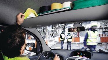 Renault Kangoo E-Tech Stauraum