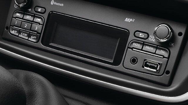 Renault KANGOO Z.E. – radio