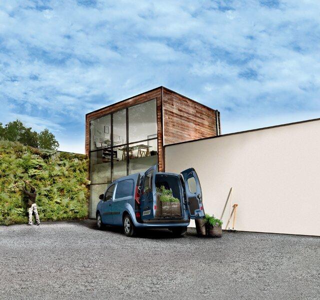 Renault KANGOO Z.E. ‒ zadný pohľad