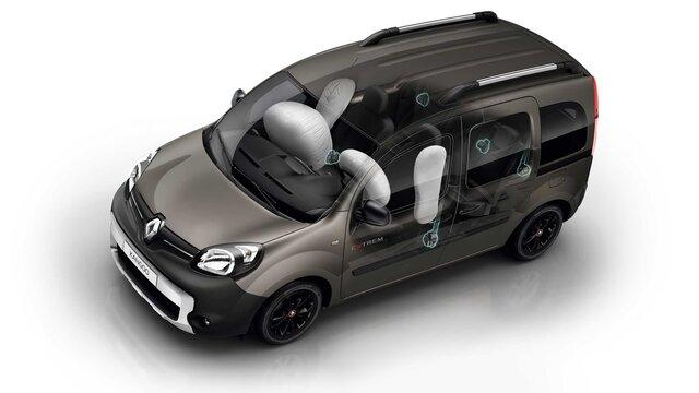 Airbagy vozu KANGOO