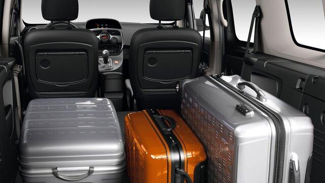KANGOO bagażnik z walizkami