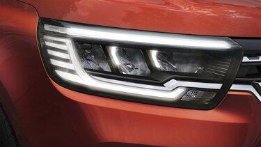 Renault Kangoo– Lichtsignatur