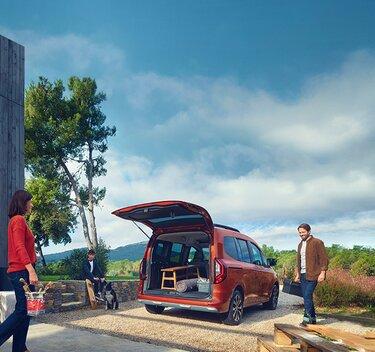 Kangoo– das Freizeitfahrzeug für die ganze Familie– Ausstattung
