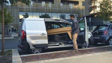 Sésame ouvre-toi par Renault Kangoo Van