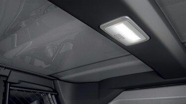 LED-belysning för Kangoo transportbil