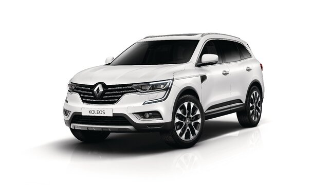 Witte Renault KOLEOS