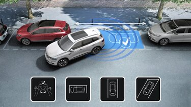 KOLEOS – Easy Park Assist