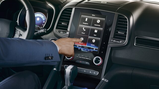 KOLEOS tablet met touchscreen