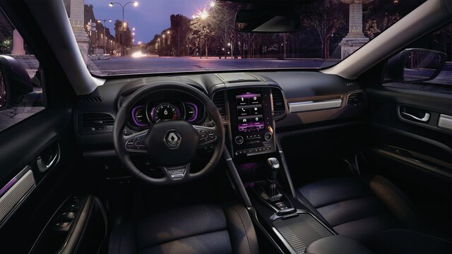 KOLEOS INITIALE PARIS dashboard