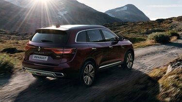 Renault KOLEOS INITIALE PARIS exterior vista de 3/4 parte delantera color blanco