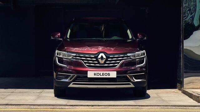 Přední část vozu Renault KOLEOS