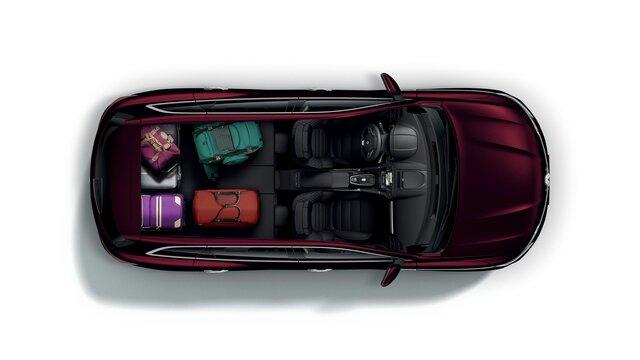 Renault KOLEOS pojemność bagażnika