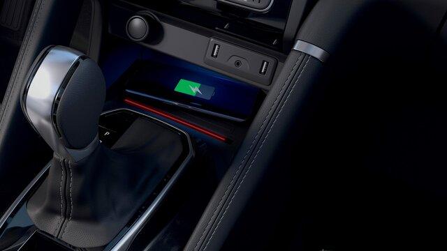 Induktive Smartphoneladefläche– Renault KOLEOS